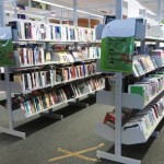 Library shelves -- but where are the trained librarians?