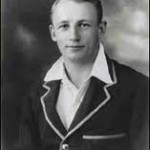 Bradman as a young man