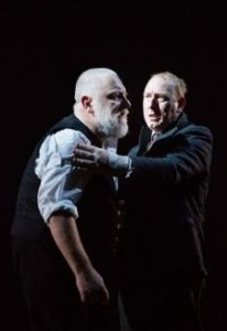 Simon Beale and Adrian Scarborough in King Lear