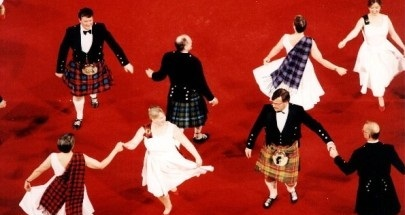 country dancing scots