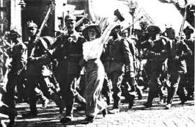 Germans march
