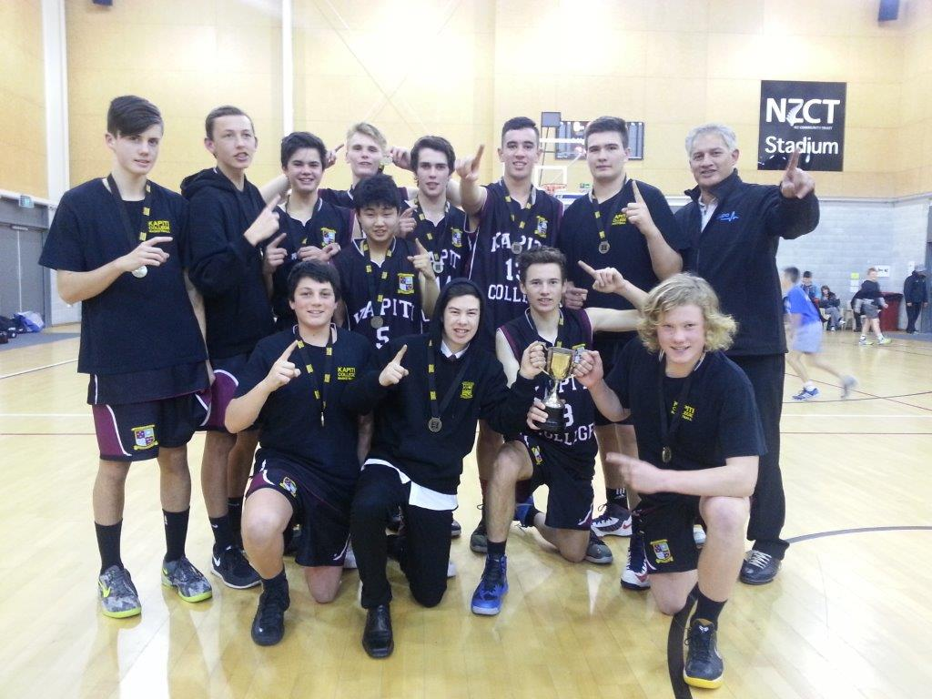 Kapiti College Snr Boys Team - champions (1)