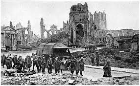 WW1 damage