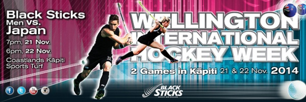 Black Sticks v Japan