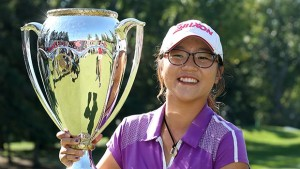 Ko and CWPGA trophy