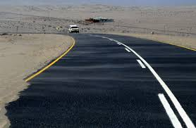 Driving on the left in Namibia