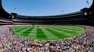 The setting for the final: the famous Melbourne Cricket Ground