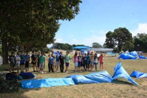 waikanae pupils under tarps