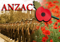 A very important day in Australia too. Lest we forget.