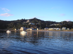 Capital of Stewart Island: the seaside settlement of Oban