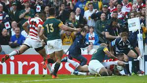Hesketh scores the winning try