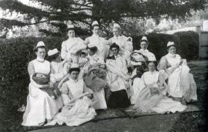 Nurses at a St Helens Hospital
