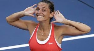 Roberta Vinci; unseeded but not overawed