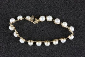 A stolen necklace recovered from  a Paraparaumu property