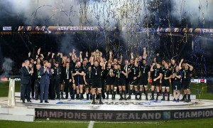 The biggest sporting triumph of the year, so should an All Black be the Sportsman of the Year?