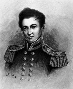 Captain William Hobson, a man with a peaceful mission