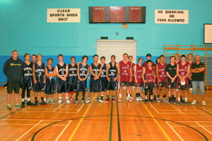 The Kapiti and Wanganui teams (Photo by Joy Cowle)
