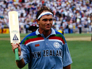 Crowe was in top form in the 1992 One Day Cricket World Cup