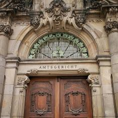 Court Entrance in Germany