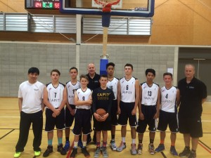 KBA Under 15 Boys Team (Photo by Paula Cowle)