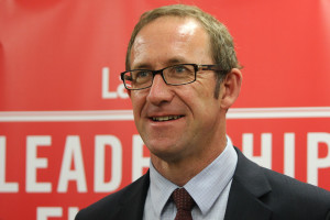 Andrew Little hqs reqslon to smile at last