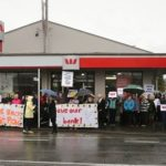 Waikanae locals protest about plans to close Westpac branch