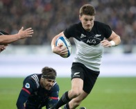 Beauden Barrett all class against France in Paris.