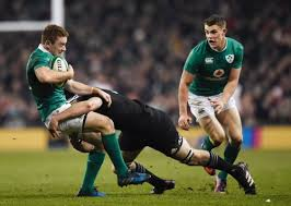 The All Black tackling was often deadly and behind the advantage line