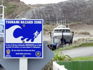 Typical NZ boat ramp warning sign