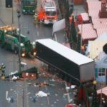 Aftermath of the truck attack on a Xmas market in Berlin